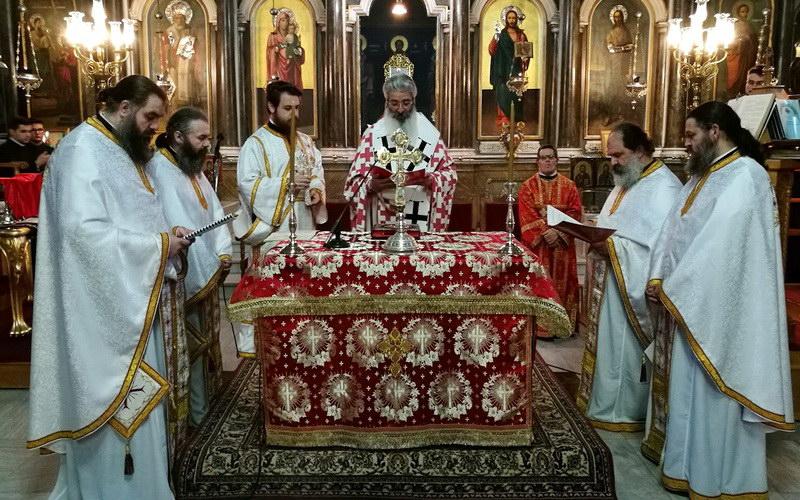 Αλεξανδρούπολη: Βραδυνή αρχαιοπρεπής Θεία Λειτουργία Αγίου Ιακώβου του Αδελφοθέου