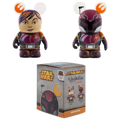 Star Wars: Rebels Sabine Vinylmation Eachez Vinyl Figures by Disney