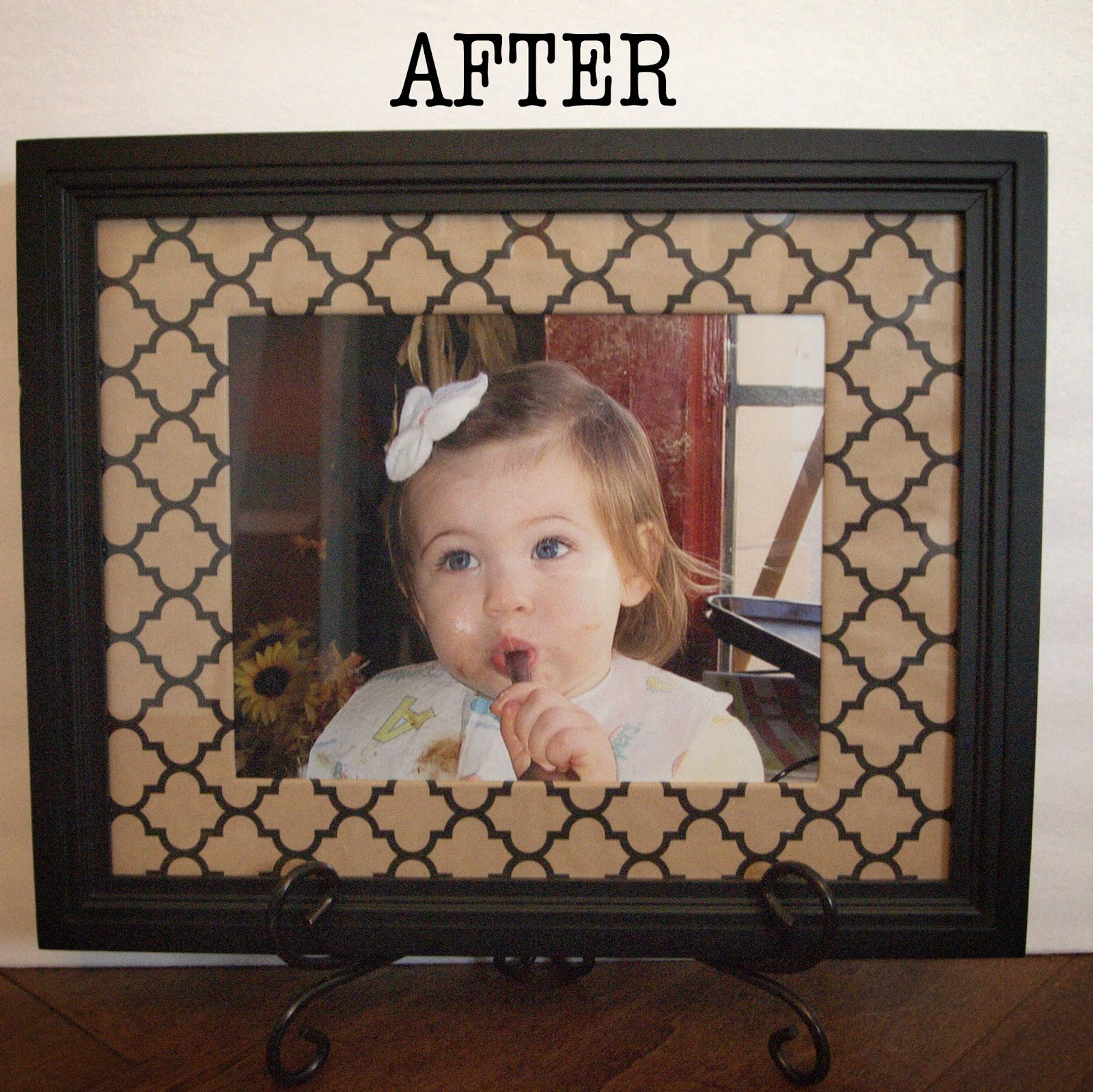 Loveyourroom Wrapping Paper Photo Frame Mat Project