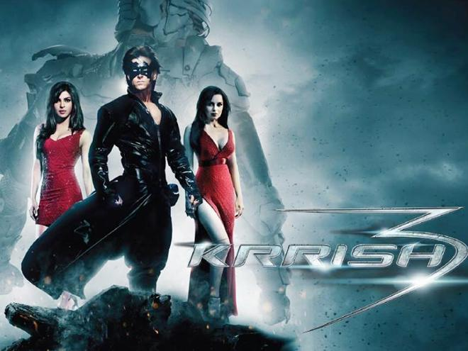 Hrithik Roshan Krrish 3 Bollywood Movie is collect a share of 244.92 Crore in indian, Krrish 3 had a final 3rd highest-grossing in India Mt Wiki