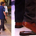President Duterte spotted with a broken shoe in the event went viral