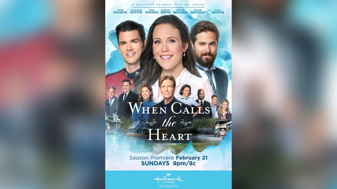 When Calls the Heart Kevin McGarry Nathan Grant Erin Krakow Elizabeth Thatcher Thornton Chris McNally Lucas Bouchard Kavan Smith Leland Coulter Pascale Hutton Rosemary Coulter Jack Wagner Bill Avery Kayla Wallace Fiona Miller Joseph Canfield Viv Leacock Paul Greene Dr. Carson Shepherd Andrea Brooks Faith Carter Hallmark Channel