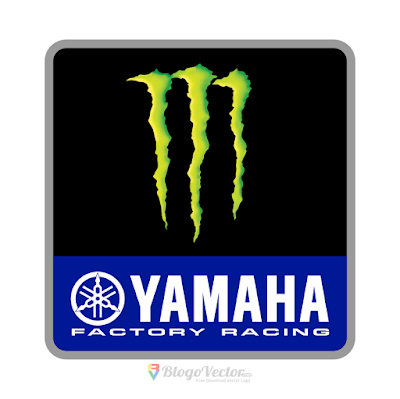 Monster Energy Yamaha Logo Vector