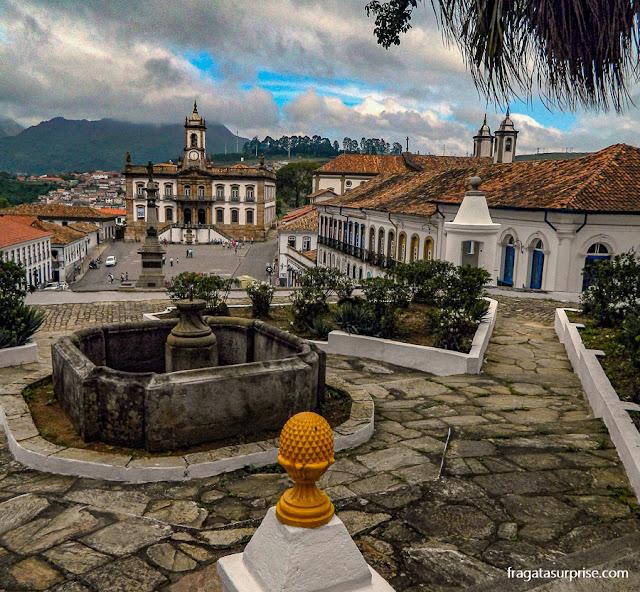 Jardim da Escola de Minas de Ouro Preto