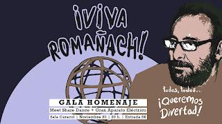 Imagen de Javier Romañach en un cartel