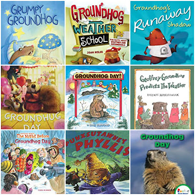 Children's Books about Groundhog Day