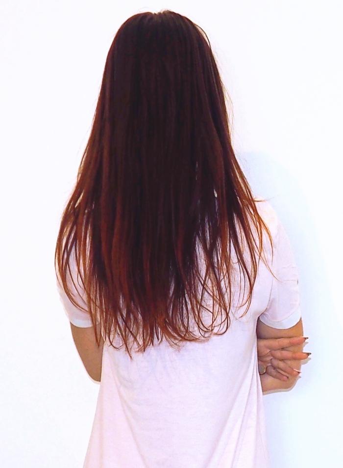 zmiana koloru włosów