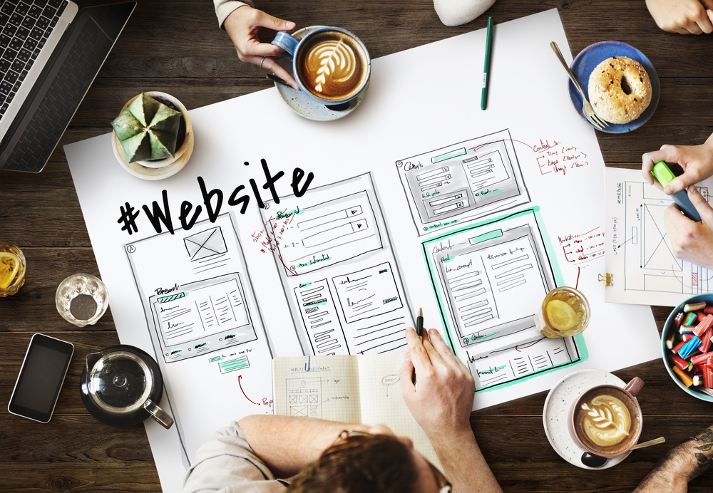 Designing and positioning websites in the UK