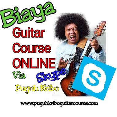 Biaya Kelas Online Puguh Kribo Guitar Course