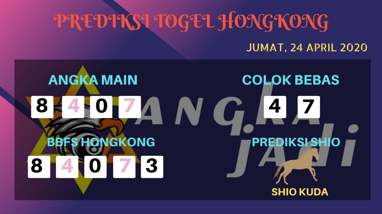 Prediksi HK 24 April 2020 - Prediksi Angka HK