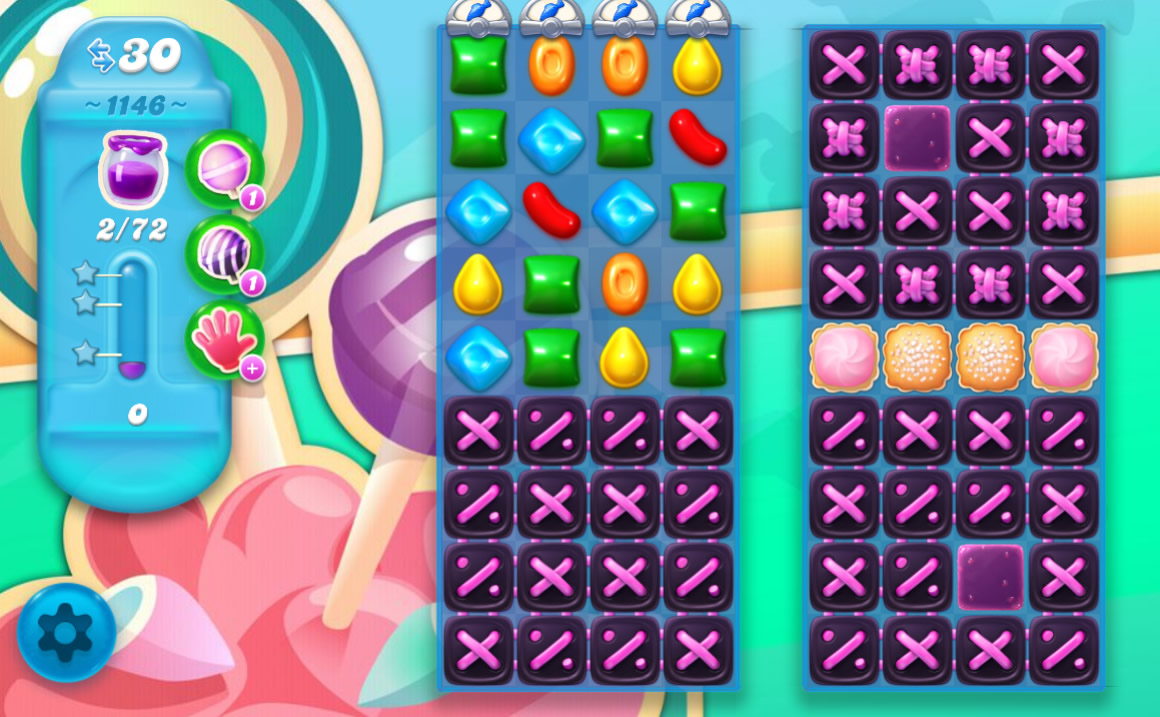 Candy Crush Soda Saga level 1146