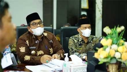 Bupati Padang Pariaman Paparkan Progres Implementasi SAKIP dan RB
