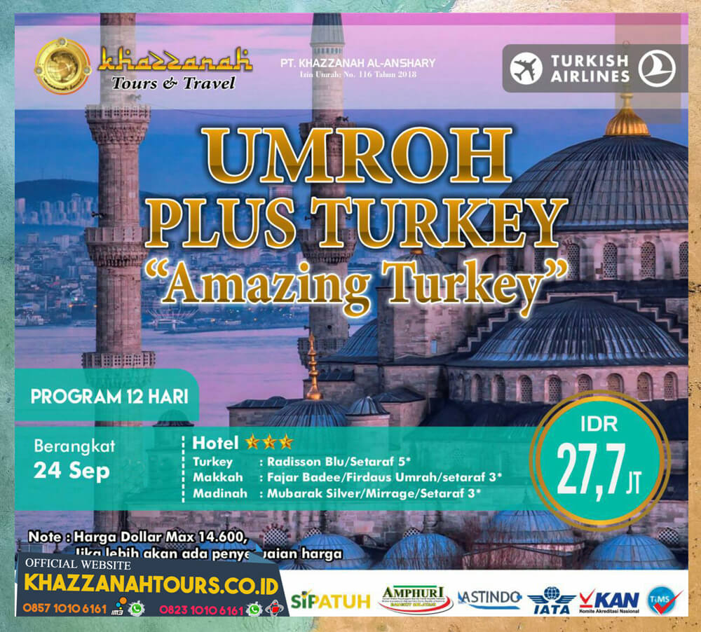 Umroh Plus Turkey Amazing