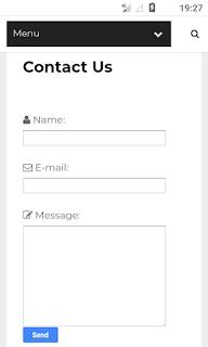ব্লগস্পোট ব্লগের জন্য কন্টাক্ট ফর্ম  / Contact Us পেজ কিভাবে তৈরি করবো