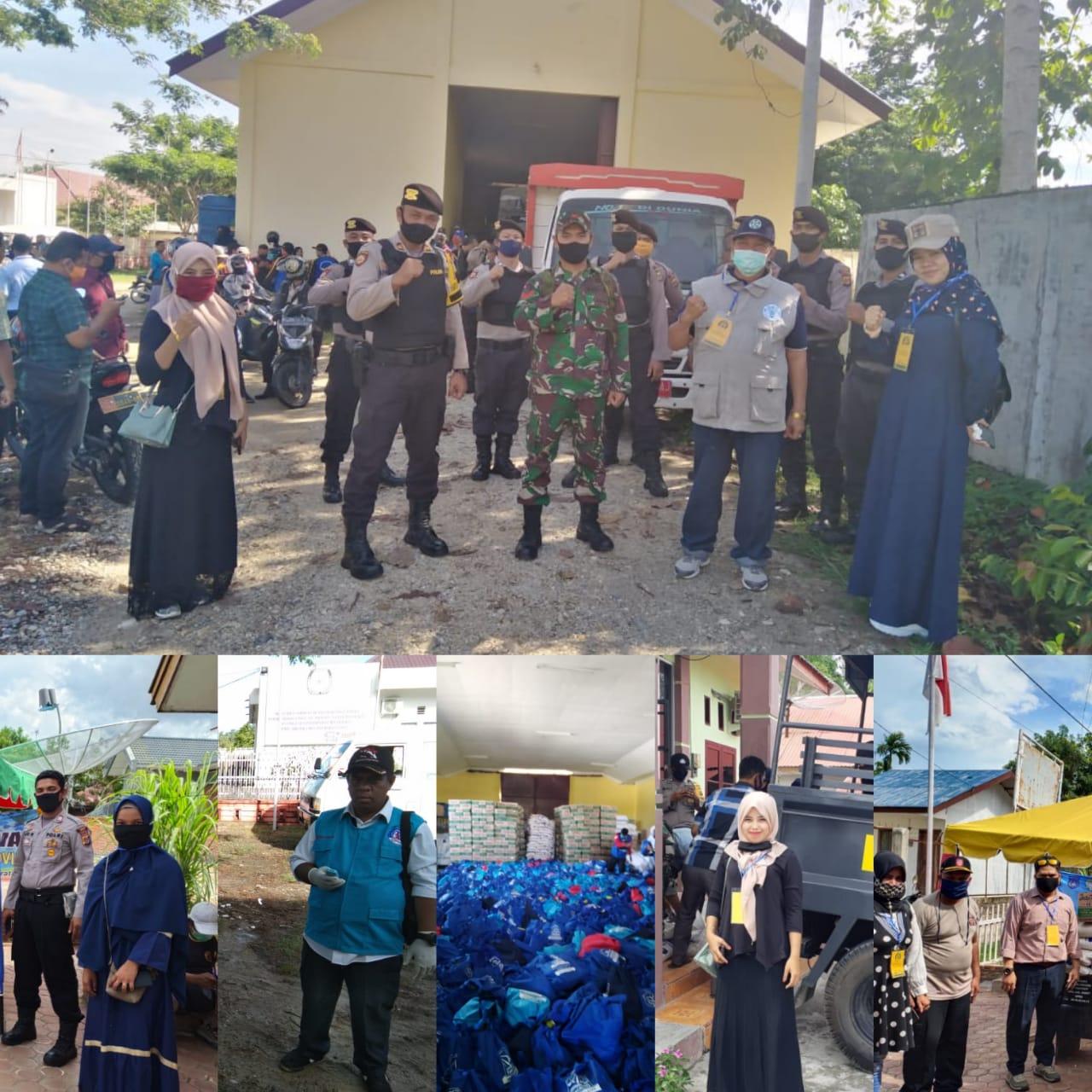 Relawan LPD Indonesia Kota Langsa Ikut Partisipasi dalam Mendistribusikan Sembako Covid-19