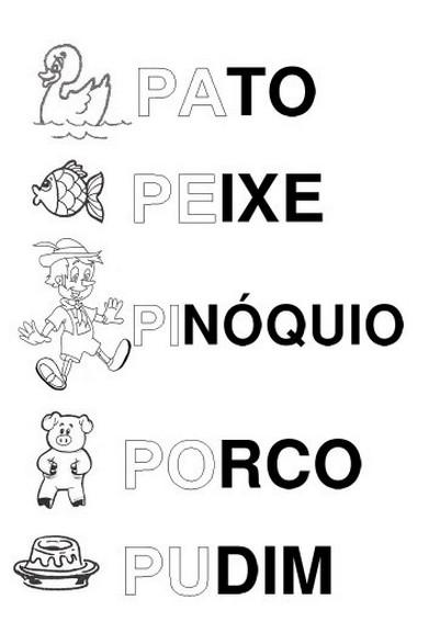 silabÁrio alfabeto ilustrado a a z atividades letras animais e