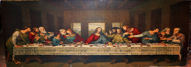أفلام شهيرة تأثرت بلوحة العشاء الأخير للفنان العالمي ليوناردو دافنشي فيلم سينما رسمه صور