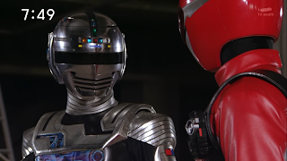 Gavan Type-G's crossover into Go-Busters