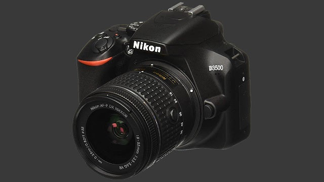 Nikon D3500 dslr camera With 16GB Memory Card | Rs 33,795