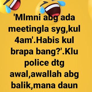 Bekas UMNO yang dah rosak