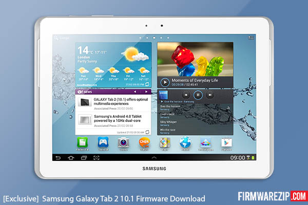 Samsung Galaxy Tab 2 10.1 Firmware Download