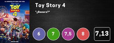 Nota Toy Story 4