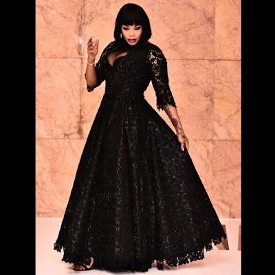 Toyin Lawani designed N1.5million dress