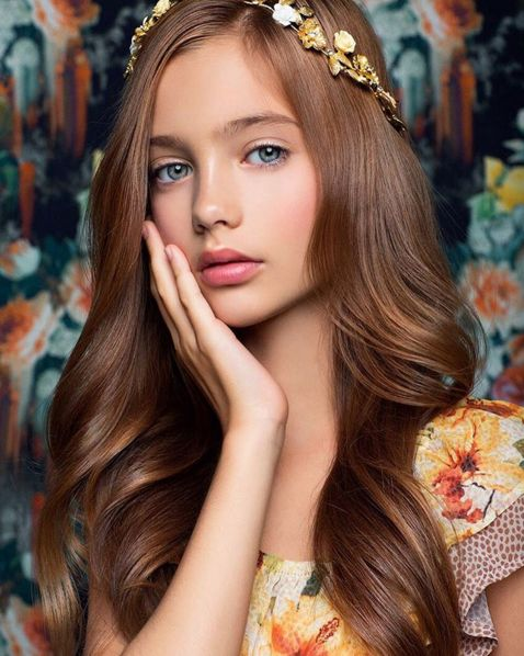 Models young russian Third video