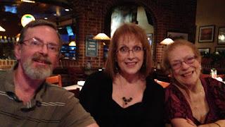Betty Morton with Mark and Susan Leonard