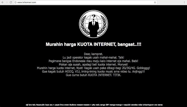 Indonesia's Biggest Telecom Provider Hacked by 'The Poor'
