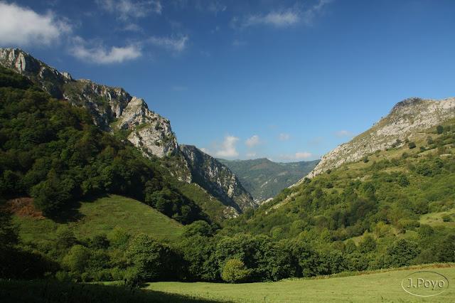 Ruta por el Desfiladero de las Xanas, Asturias