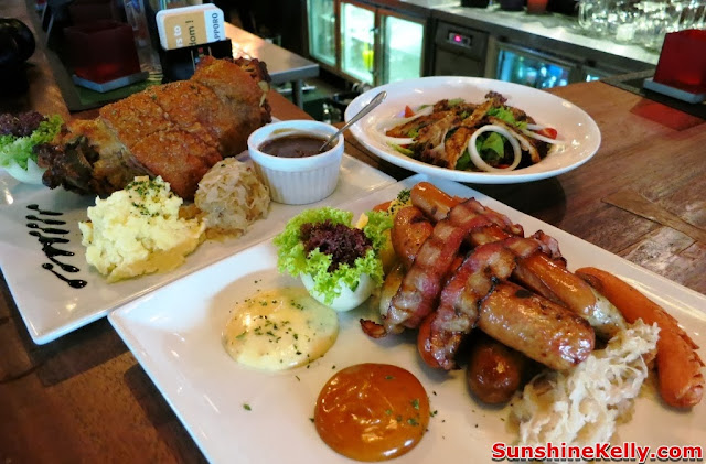 Bavarian House, German Restaurant, food review, german food, pork, taman desa,