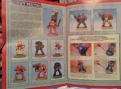 Citadel Colour Paint Set 1994 - Guide 3rd page