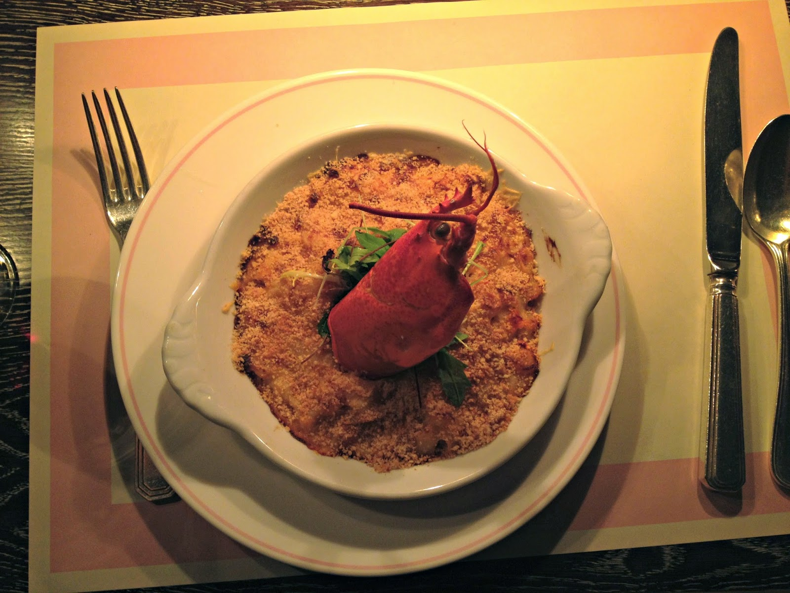 Bob Bob Ricard Lobster Mac Cheese