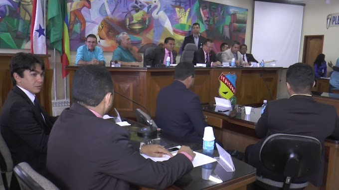 ACONTECEU ONTEM A ULTIMA SESSÃO ORDINÁRIA DO PRIMEIRO SEMESTRES DO PODER LEGISLATIVO MUNICIPAL.
