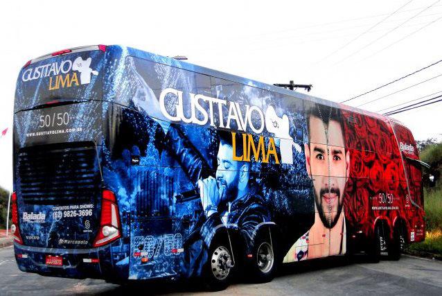 Caminhao de Gusttavo Lima
