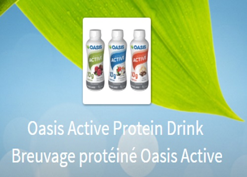 Oasis Free Active Protein Drink