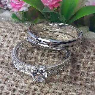 cincin kawin pernikahan pasangan couple wedding model terbaru