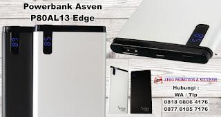 Souvenir Powerbank P80AL13 ( EDGE ), Barang Promosi Powerbank, Power Bank Murah Untuk Souvenir Promosi, Grosir Power bank Souvenir, Jual power bank bisa dilogo perusahaan