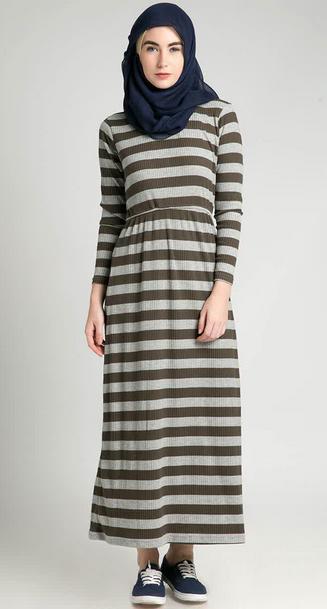 Baju Dress Pesta Muslimah