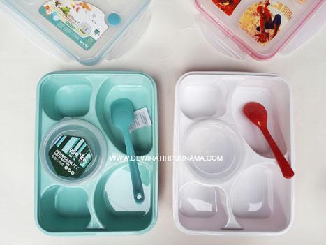 kotak makan sekat yooyee lunchbox