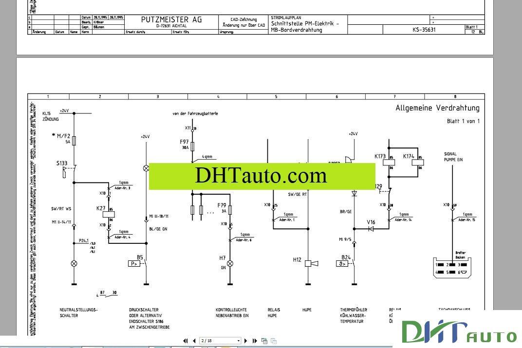 putzmeister service training 05 2016 automotive library rh car workshopmanuals blogspot com Light Switch Wiring Diagram putzmeister concrete pump wiring diagram