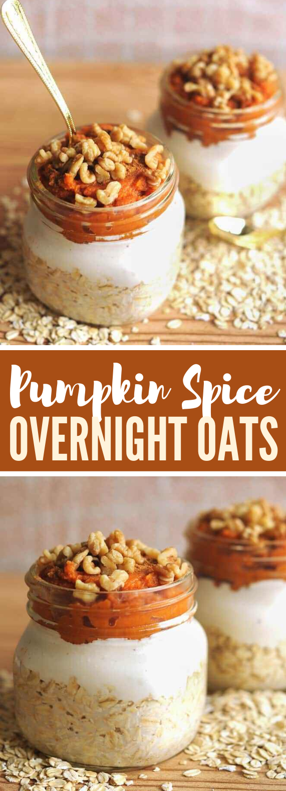 Simple Overnight Oats – Pumpkin Spice Overnight Oats Recipe #healthy #breakfast