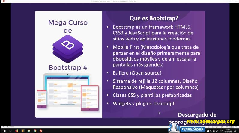 Megacurso de Bootstrap 4 de Cero a Maestro Español