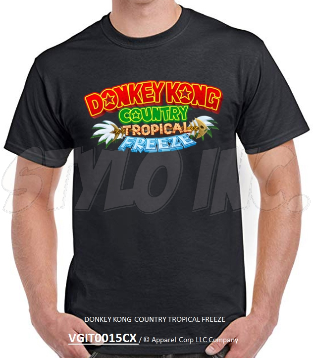 VGIT0015CX DONKEY KONG COUNTRY TROPICAL FREEZE