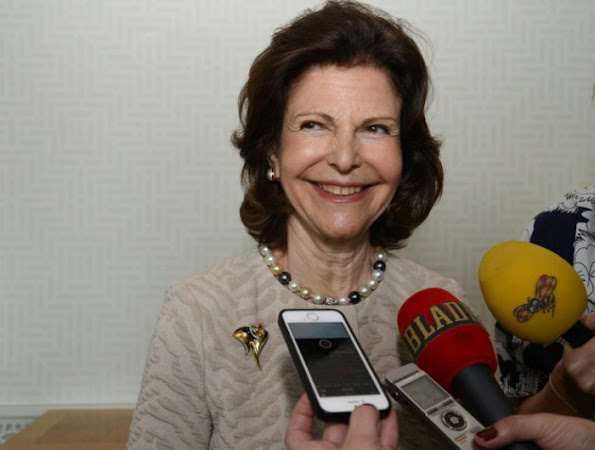 "Interview with Queen Silvia on the birth of her 5th grandchild. ""It's incredible, I'm so glad indeed."