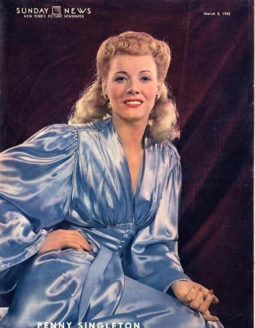 Penny Singleton, 8 March 1942 worldwartwo.filminspector.com