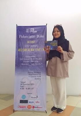launching buku cerita anak aku dan alam semesta karya de laras