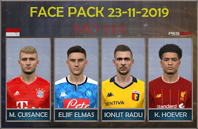 PES 2017 Facepack 23-11-2019 by Mo Ha