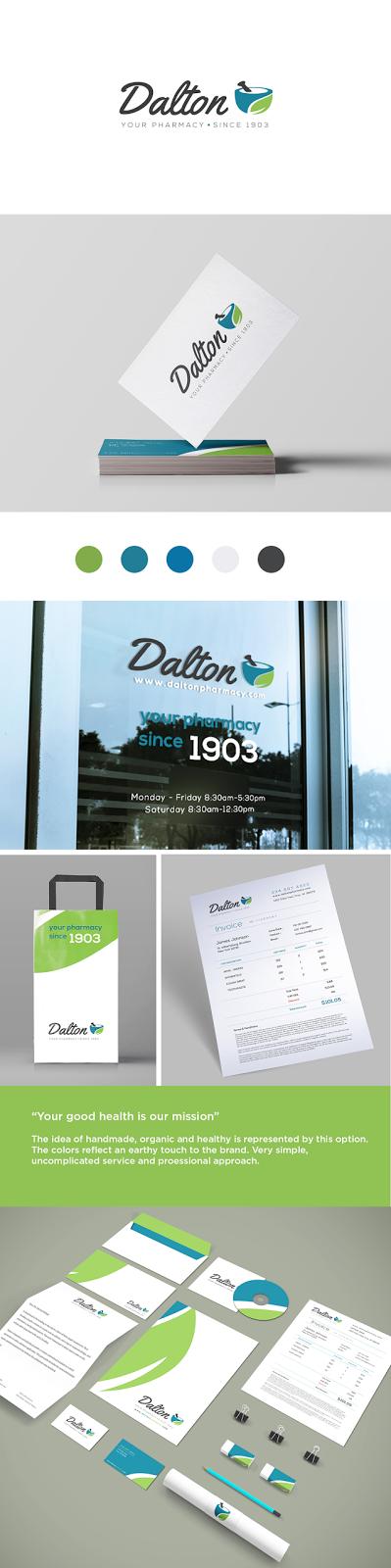 Dalton Pharmacy Branding
